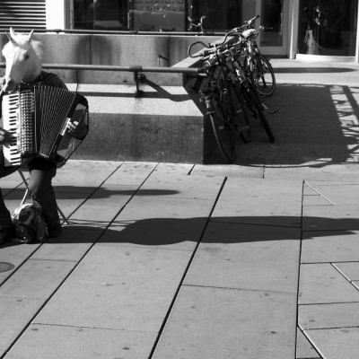 Musikpferd, Wien, Graben, 2014