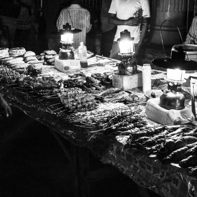 Sansibar, Nachtmarkt, Hauptstadt Stonetown, 2008