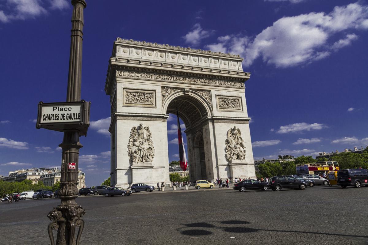 Paris, Triumphbogen, 2015